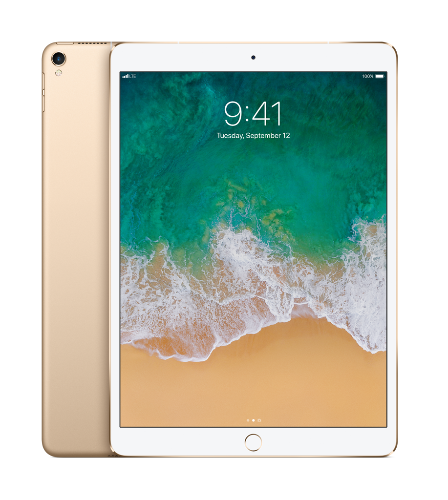 Apple 10.5-inch iPad Pro Wi-Fi + Cellular 64GB Gold