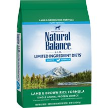 Dog Food: Natural Balance Limited Ingredient Diets Puppy