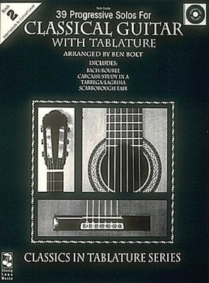 39 Progressive Solos for Classical Guitar: Book II by