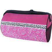 Sassi Designs CDY-02 Candy Swirl Roll Rhinestones Duffel Bag - Small