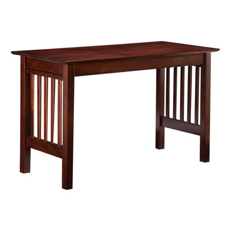 Mission Writing Desk in Walnut or Caramel (Writing A Mission Statement For A Small Business)