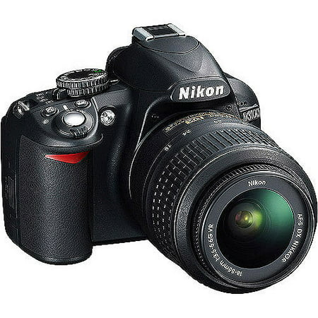 Nikon D3100 14.2MP DSLR Camera with 18-55mm VR Lens, 3