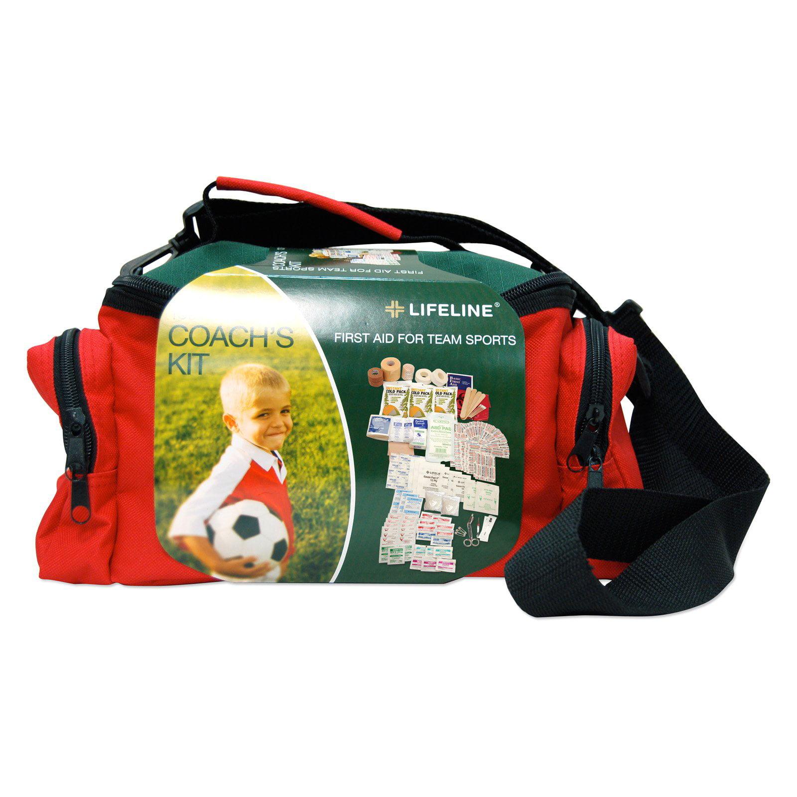 Lifeline Team Sports Coach First Aid Kit 133 Pieces by Lifeline First Aid Llc