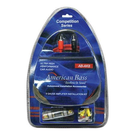 Car Audio Amplifier Wiring Kit 8 Gauge Amp Installation Car
