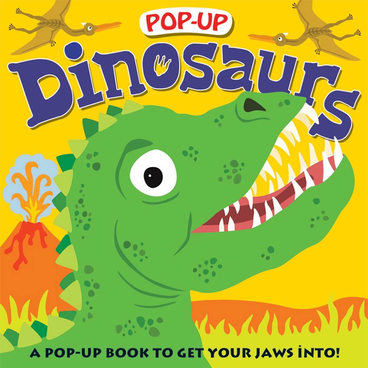 Pop-up Dinosaurs : A Pop-Up Book to Get Your Jaws Into