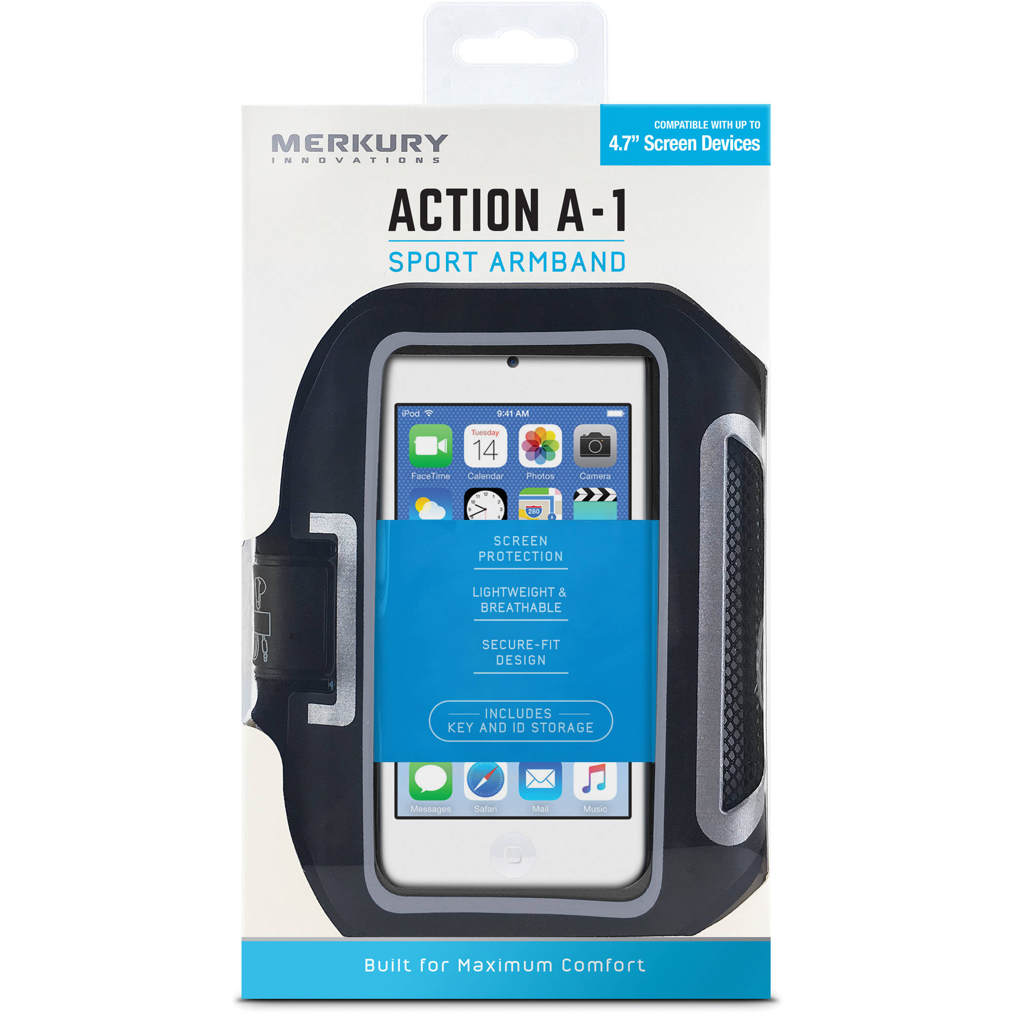Merkury Innovations Armband for Apple iPhone, Black