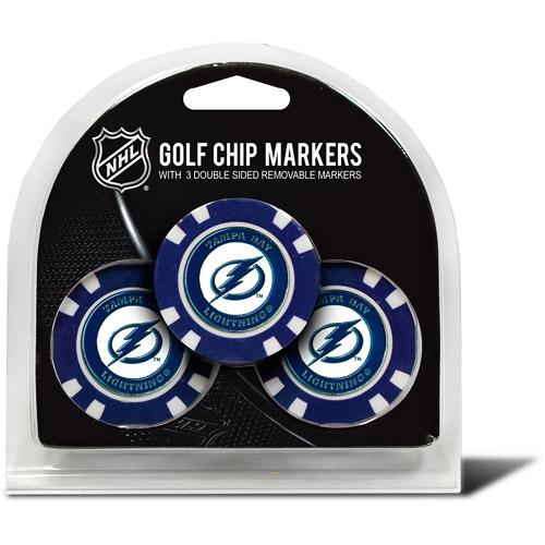 Team Golf NHL Tampa Bay Lightning 3 Pack Golf Chip Ball Markers