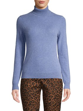 Petite Cashmere Turtleneck Sweater