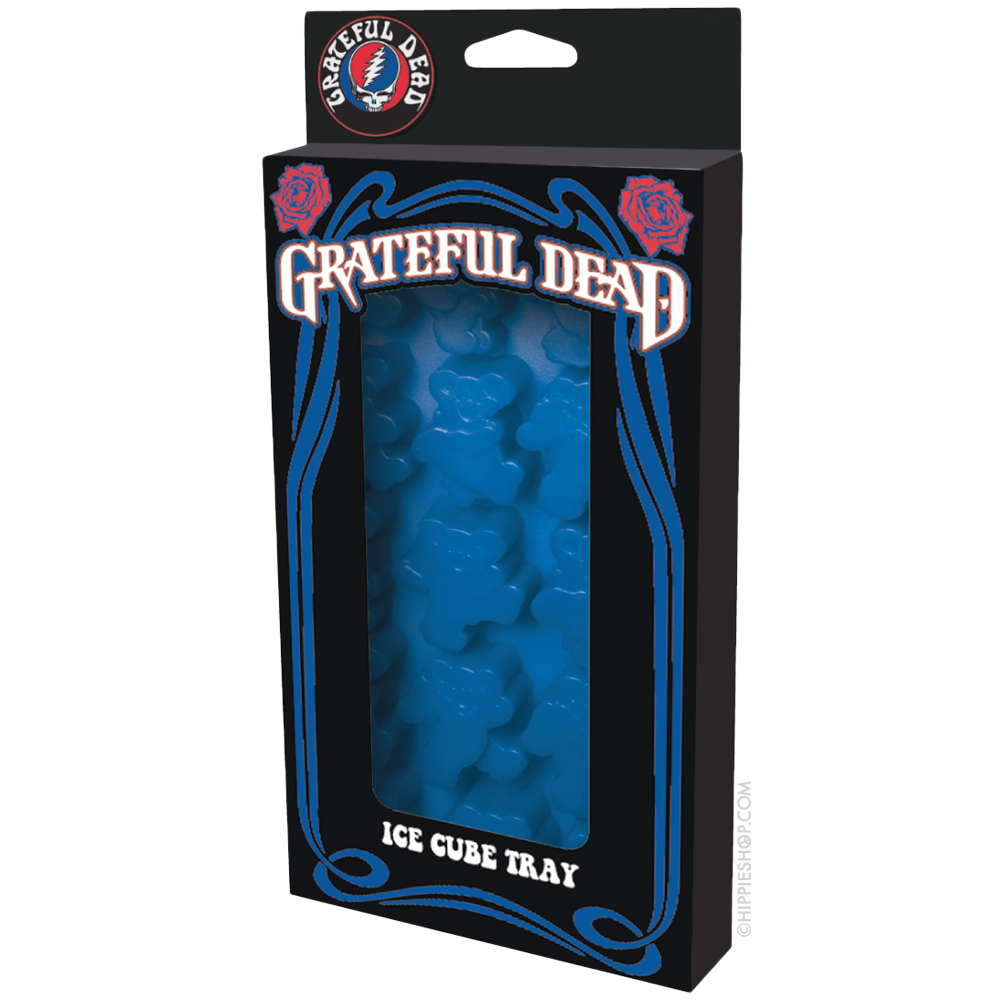 ICUP Grateful Dead Dancing Bear Ice Cube Tray