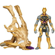 Marvel The Avengers Movie Series Chitauri Cosmic Chariot Invasion Action Figure and Vehicle