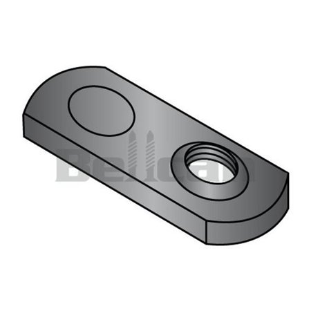 Welded Box - Shorpioen 14NWP1 0.25-20 Single One Projection Tab Weld Nut, Plain - Box of 1000