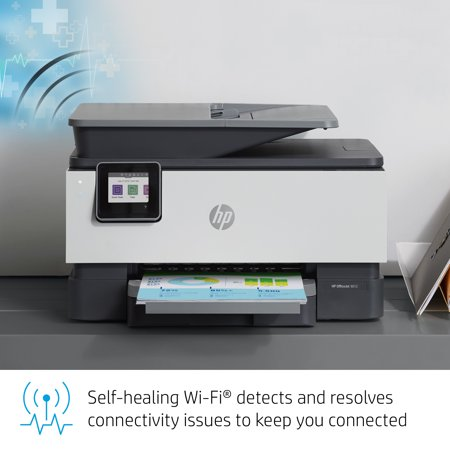 HP OfficeJet 9012 All-in-One Wireless Printer, with Smart Tasks for Smart Office Productivity