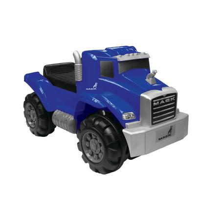 Best Ride On Mack Truck Foot to Floor in Blue, Wonderlanes Toys for