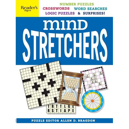 Reader's Digest Mind Stretchers Puzzle Book : Number Puzzles, Crosswords, Word Searches, Logic Puzzles & - Halloween Crossword Word Search Printable