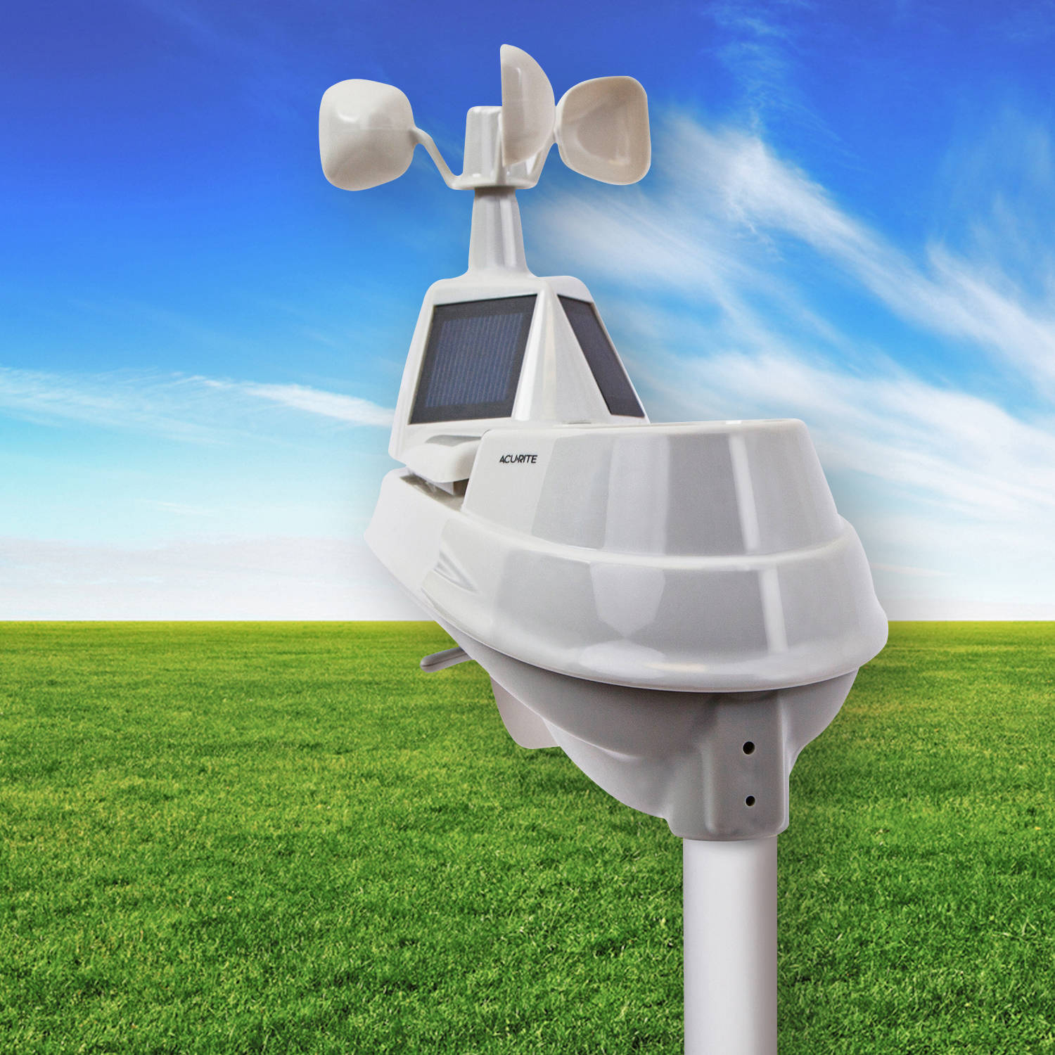 acurite 5 in 1 pro weather station with my acurite remote
