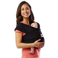 Baby K'tan ORIGINAL Baby Carrier - Black - S