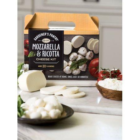 - Mozzarella and Ricotta Homemade Cheese Kit