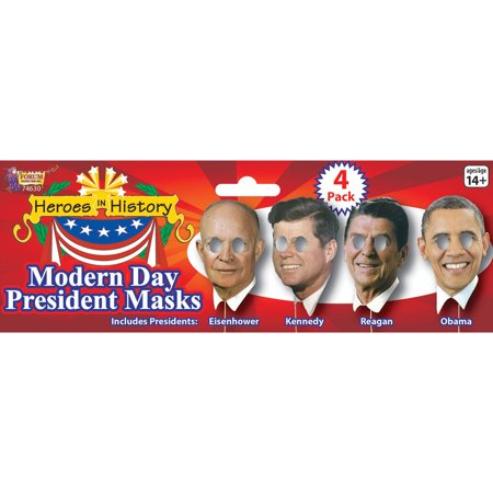President on Stick Masks Adult Halloween Accessory