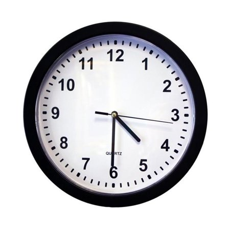 KJB Security Products SC70074K Xtreme Life 4K Wall Clock ()