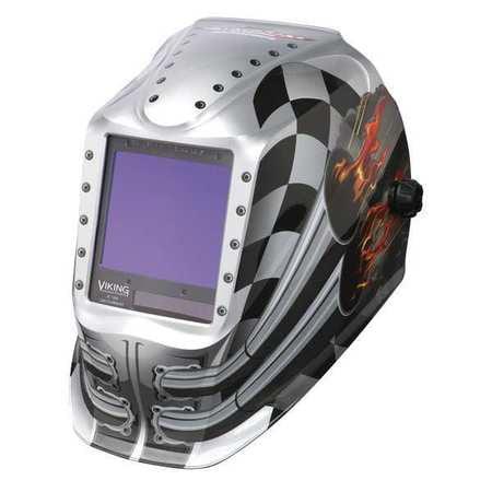 Welding Helmet,Motorhead Graphic LINCOLN ELECTRIC K3100-3