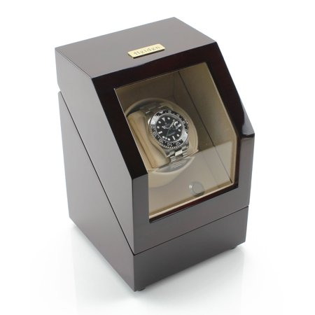 Battery Powered Single Watch Winder - Cherry ()