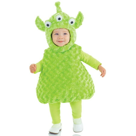 Alien Child Halloween Costume, Small (4-6)](Illegal Alien Costume)