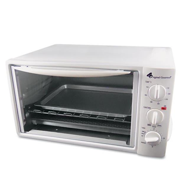 Original Gourmet Food Co. OG20 Multi-Function Toaster Oven with Multi-Use Pan, 15 x 10