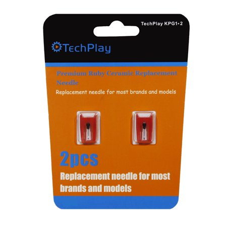 KPG1*2 Pack of 2 Ruby needels for turntable