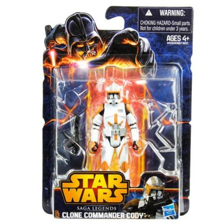 Star Wars, Saga Legends 2013 Action Figure, Commander Cody, 3.75 Inches - Star Wars Cody