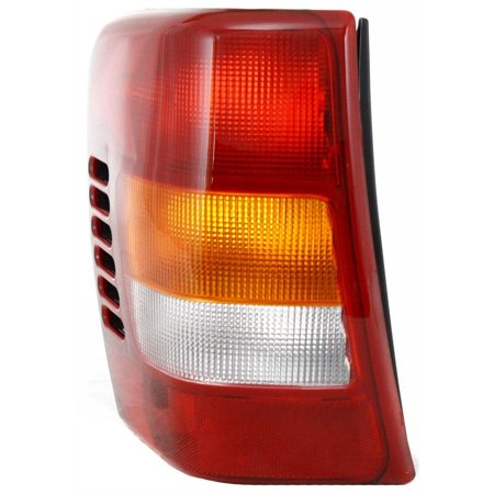 NEW TAIL LAMP LENS AND HOUSING LH FITS 1999-2002 JEEP GRAND CHEROKEE 55155139AC