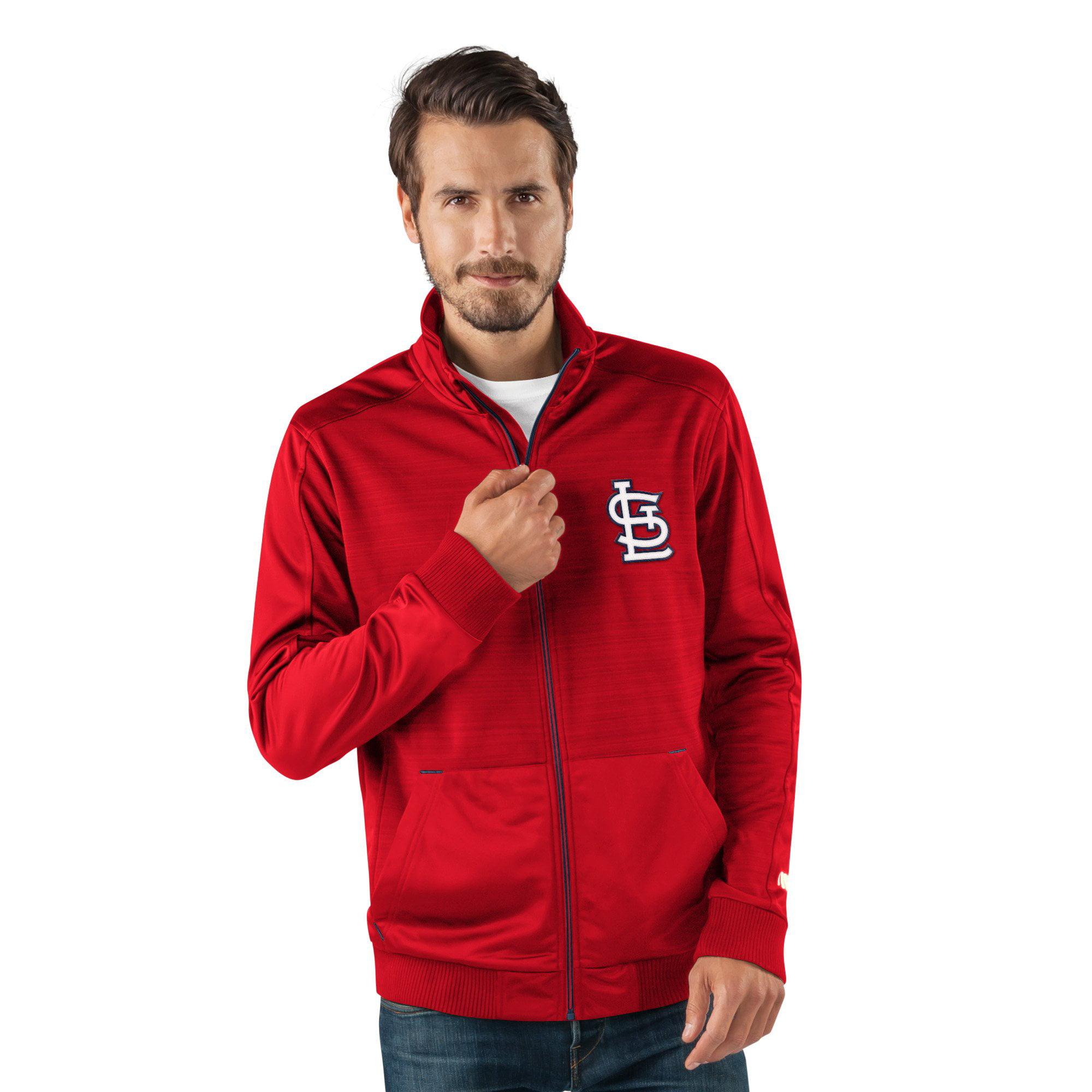 "St. Louis Cardinals MLB G-III ""Progression"" Men's Full Zip Track Jacket by G-III Sports"