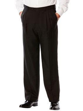 Ks Signature Men's Big & Tall Ks Signature Easy Movement Pleat-front Expandable Dress Pants