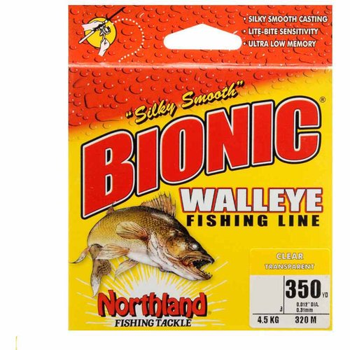 Northland Tackle Bionic Walleye Fishing Line, 8 lbs, Clear