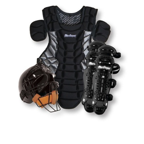 MacGregor Baseball Catchers Gear with Rawlings Helmet - Youth