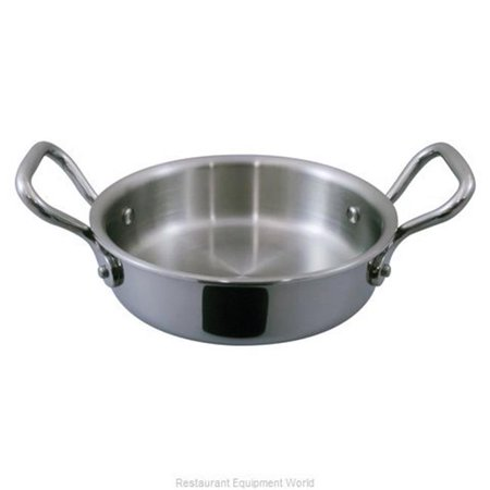 World Cuisine A1250912 4.3 in. dia. & 12 oz Mini Rondeau Pan without