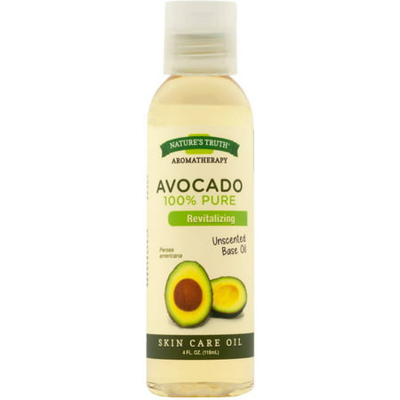 2 Pack - Nature's Truth 100% Pure Unscented Skin Care Base Oil, Avocado 4 oz