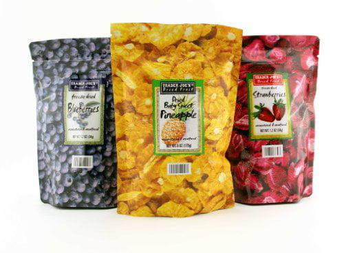 Trader Joe's Freeze Dried Fruit Assortment (Blueberries, Strawberries,Pineapple) by Trader Joe's