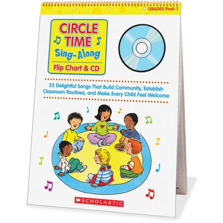 Scholastic Res  Circle Time Sing Along Flip Chart Education Printed Electronic Book By Paul Strausman