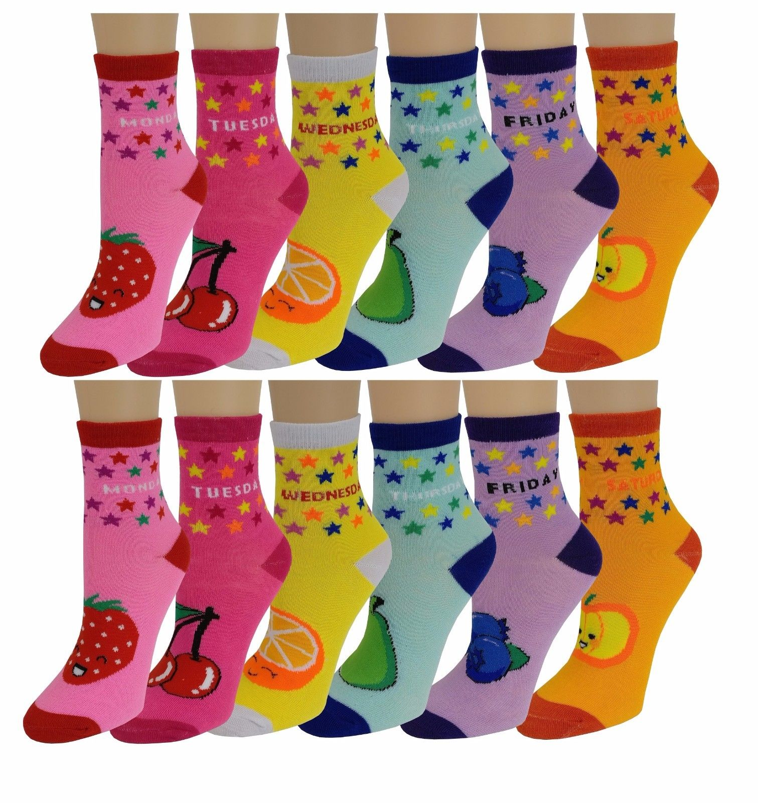 Various Designs Boys Fun /& Colorful 4-Pack Crew Socks