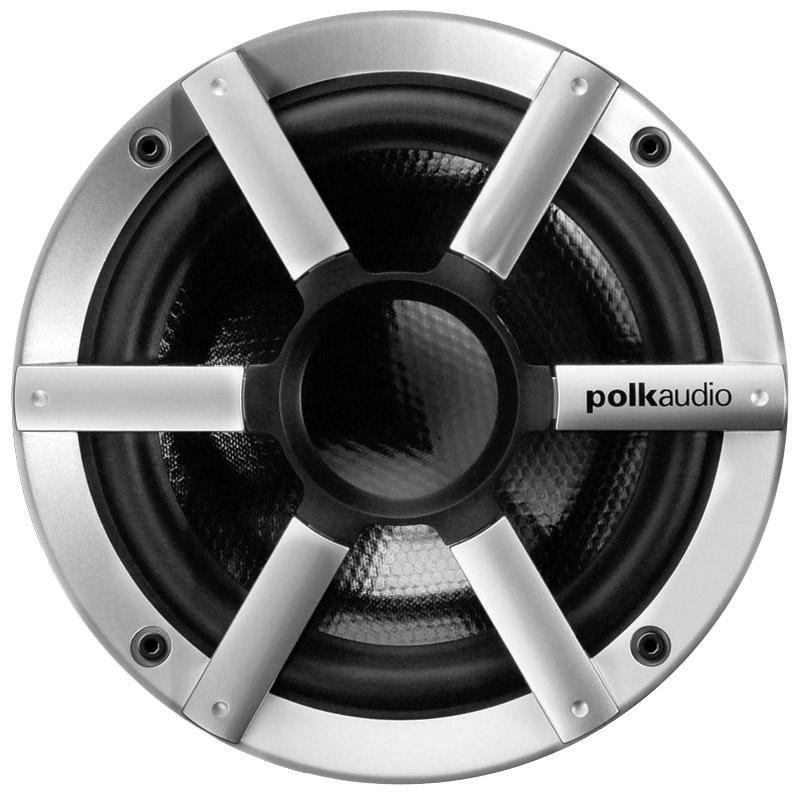 "Polk MM6501UM Black & Silver Ultra Marine Component 6.5"" Speakers - 1 Pair"