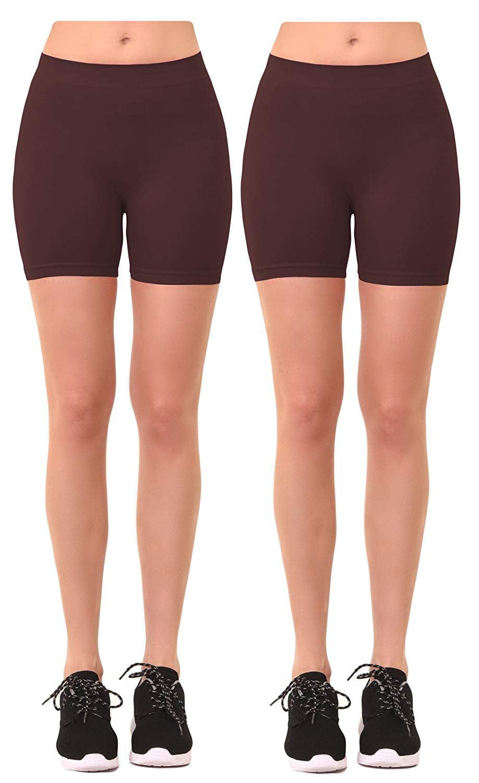 Gilbin's - Women's 2 Pk Plus Size Seamless Stretch Yoga ...