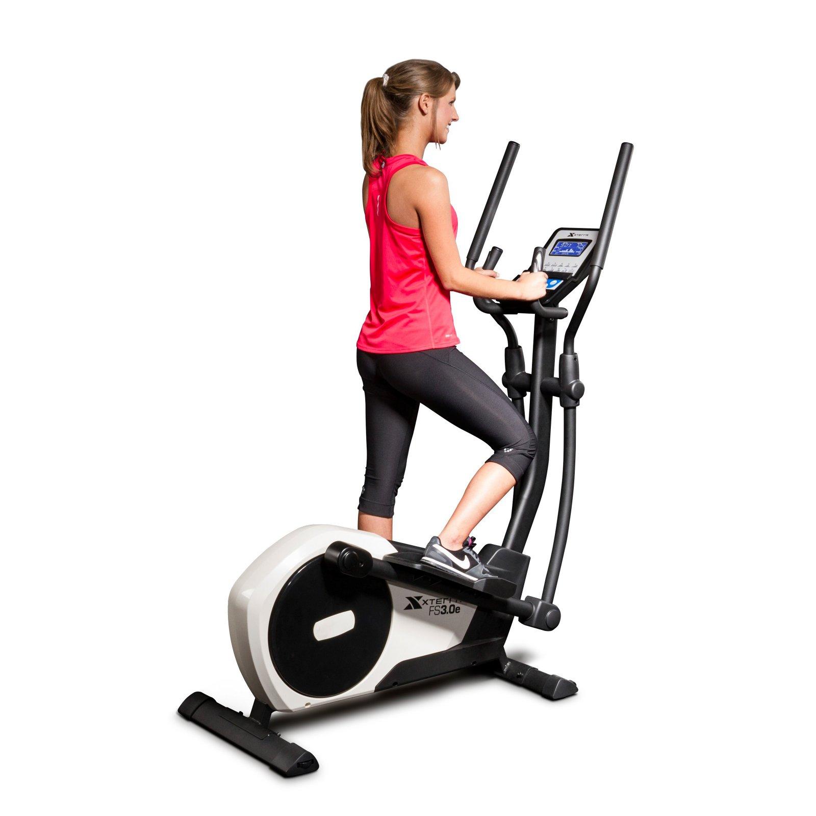 XTERRA Fitness FS3.0 Elliptical Machine With Ergonomic