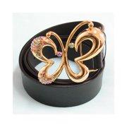 Shiny Gold Butterfly Belt - BT170