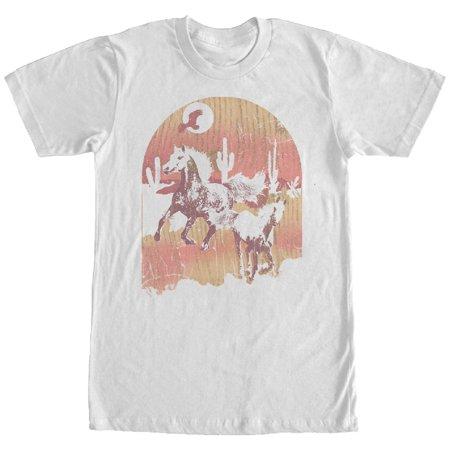 Horse Band T-shirt (Men's Desert Horse T-Shirt)