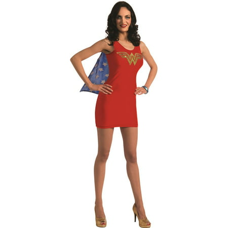 Wonder Woman Tank Teen Costume