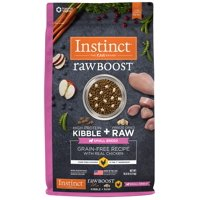 Instinct Raw Boost Small Breed Grain-Free Recipe with Real Chicken Natural Dry Dog Food by Nature's Variety, 10 lb. Bag