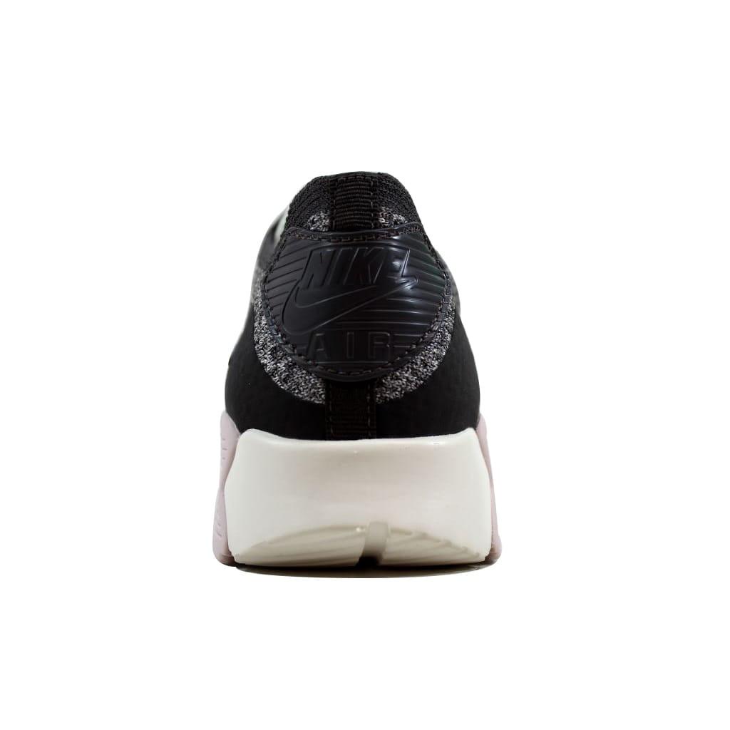 Nike Women's Air Max 90 Ultra 2.0 Flyknit Midnight Fog/Silt Red-Sail 881109-003