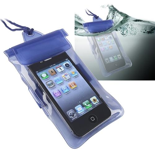 Insten Blue Sport Waterproof Bag Case For iPhone SE 5 5S 5C 4S iPod Touch/LG VS740 VN530 VN250 LS670/Nokia Lumia 820 620