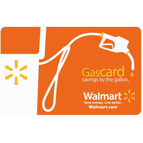 Walmart Gas Gift Card