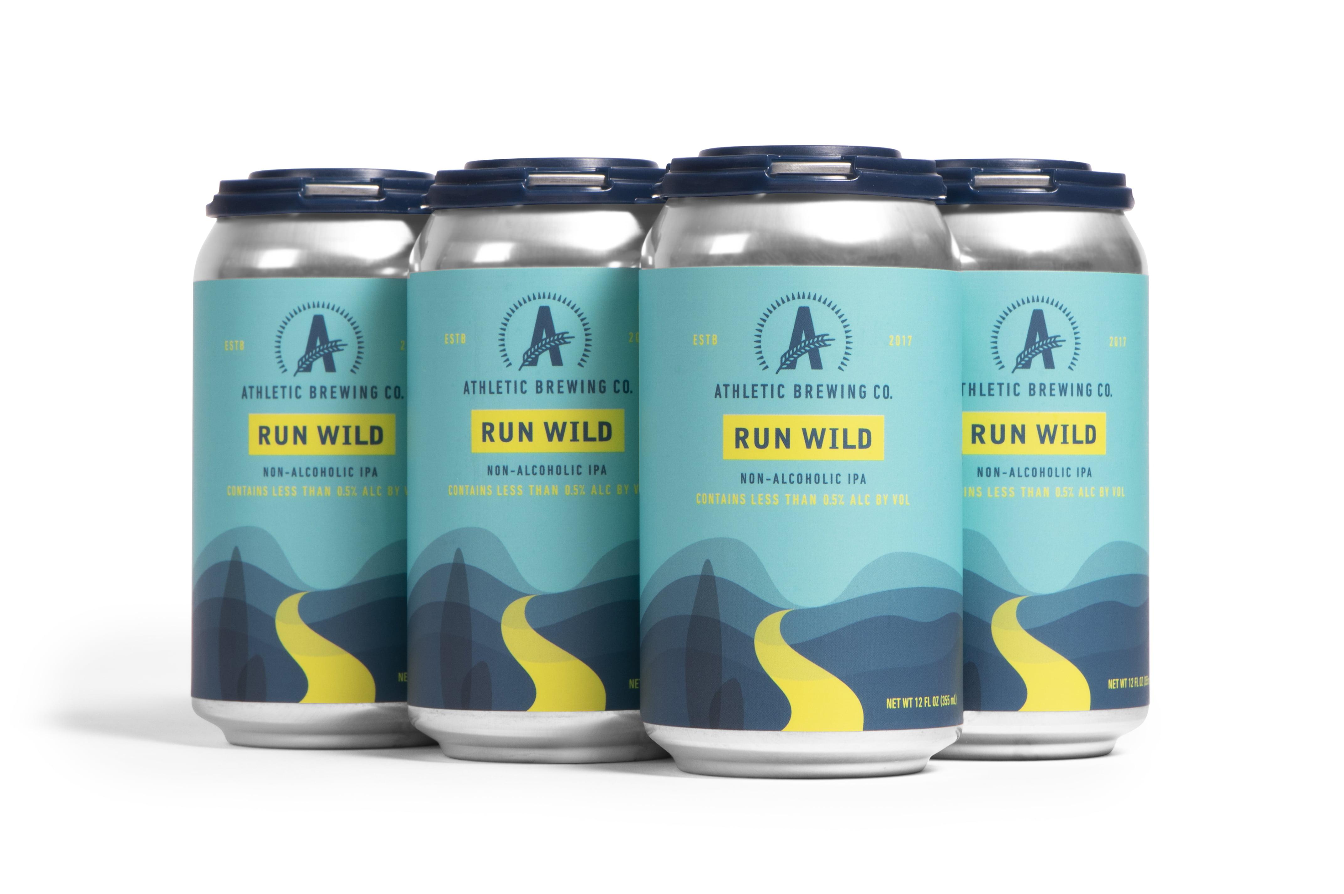 Athletic Brew Co. Run Wild IPA 355mL - Craftzero